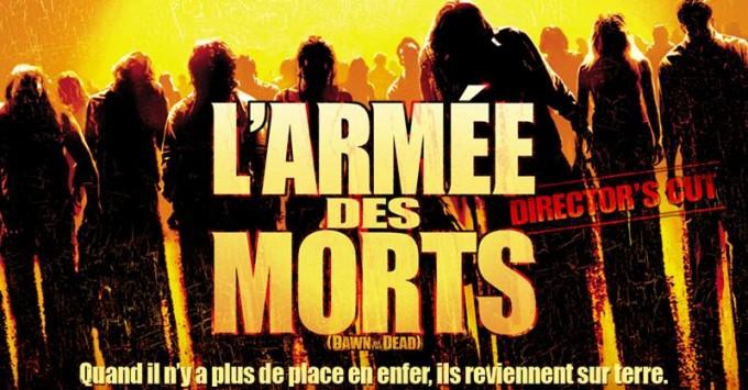 L'Armée des morts - director's cut